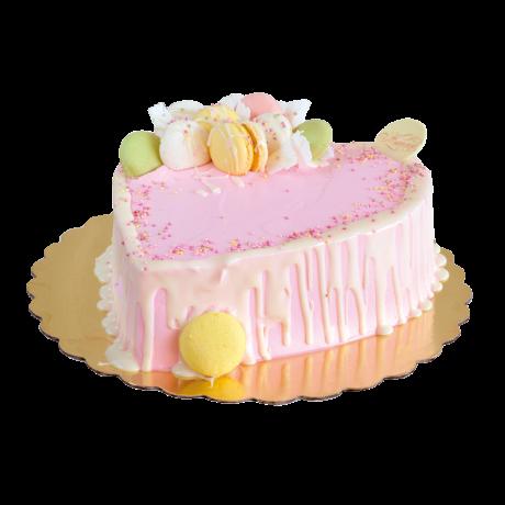 Торта - Сърце целувка