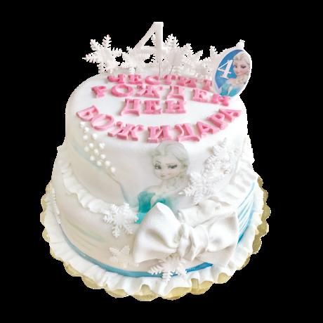 Торта Frozen