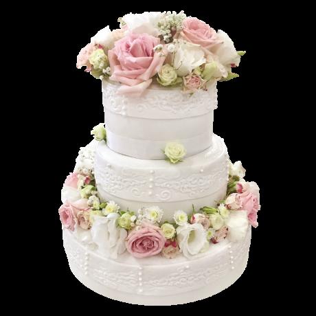 Торта Сватбена - 3