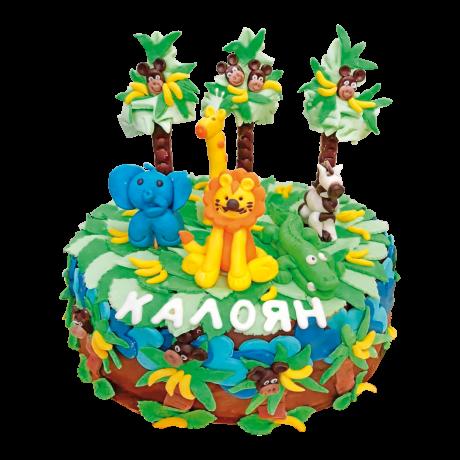 Торта - Джунгла