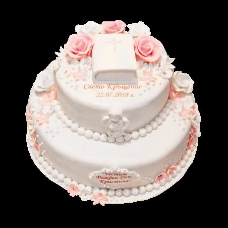 Торта за кръщене - 2