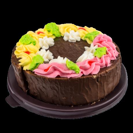 """Торта """"Жанета"""" - какаова глазура"""