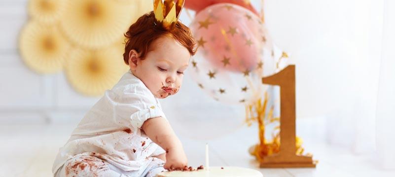 торти за първи рожден ден