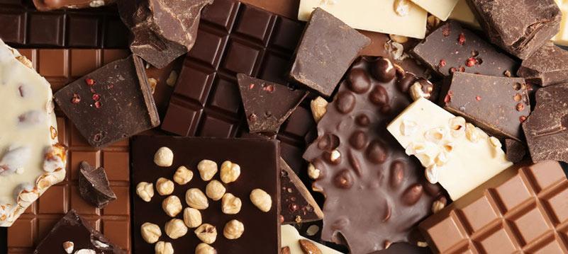 видове шоколад
